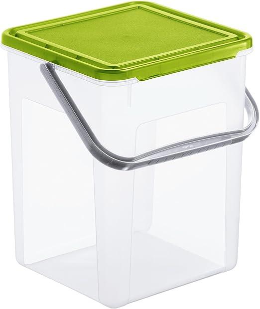 Rotho, Caja de almacenaje para detergente con tapa y mango, 7 L ...