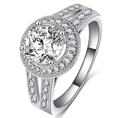 matching rings cut solitaire solitare engagement round style bands tiffany ring