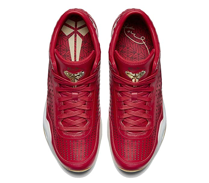 best service 49b49 53301 Amazon.com   Nike Kobe Men s X Mid EXT Basketball Shoes-University Red Metallic  Gold   Basketball