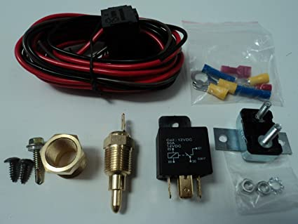 sbc thermostat wiring amazon com aaa u s a electric fan wiring install kit complete  aaa u s a electric fan wiring install