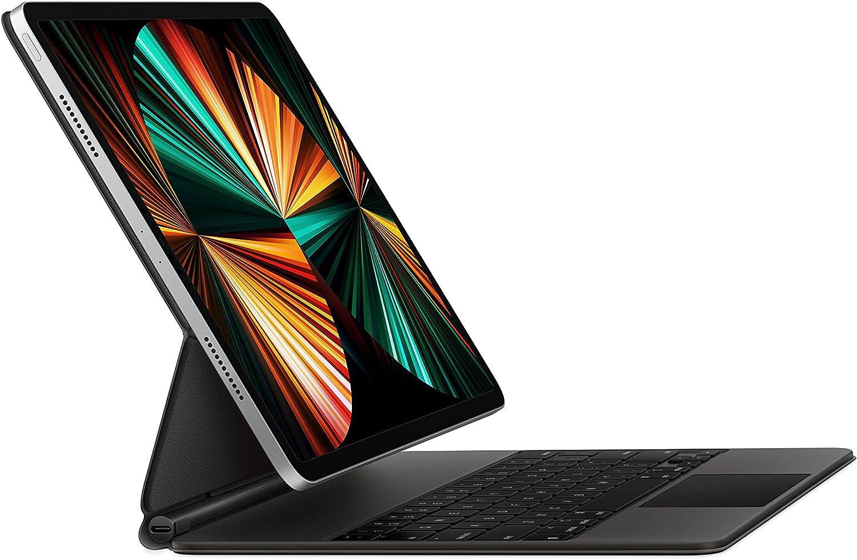Apple Magic Keyboard (for iPad Pro 11-inch - 3rd Generation and iPad Air - 4th Generation) - Arabic - Black