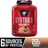 BSN Syntha-6 Whey Protein Powder, Cold Stone Creamery-Germanchökolätekäke Flavor, Micellar Casein, Milk Protein Isolate Powder, 44 Servings