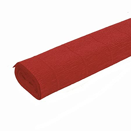 FloristryWarehouse Mid Green 565 Crepe paper roll 50cm x 2.5m Top quality Italian paper craft