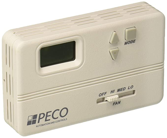 Peco TA158-100 3 Speed Fan Coil Non-Programmable Thermostat ...