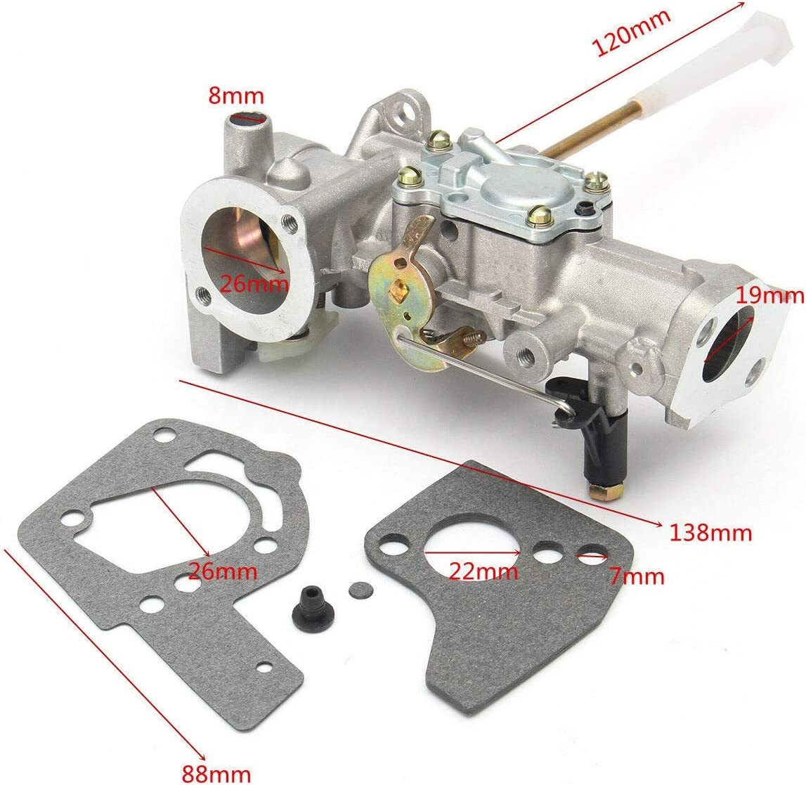 Briggs /& Stratton 499812 Carburateur Jeu Joints Étanchéité NOS NEUF #44-35-028