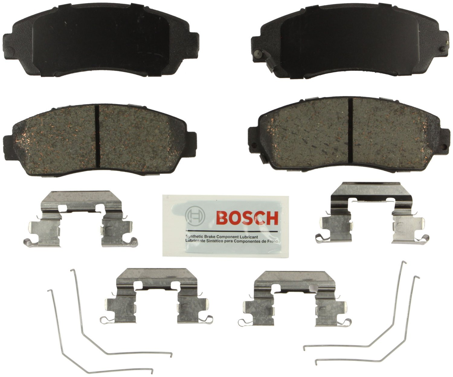 Bosch BE1521H Blue Disc Brake Pad Set with Hardware