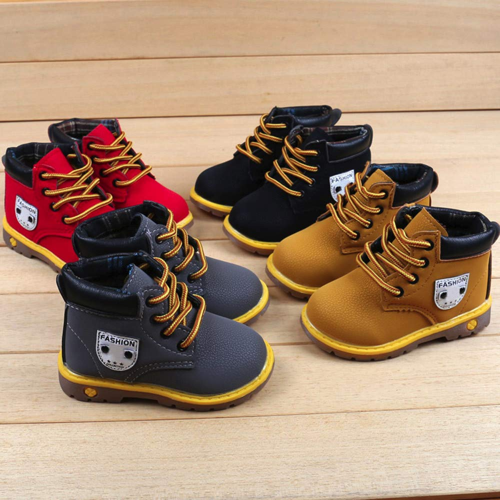 SMALLE ◕‿◕ Clearance,Baby Children Warm Boys Girls Martin Sneaker Boots Kids Baby Casual Shoes by SMALLE (Image #6)