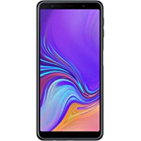 "Samsung Galaxy A7 (2018) Smartphone, Nero (Black), Display 6.0"" 64 GB Espandibili, Dual Sim [Versione Italiana]"