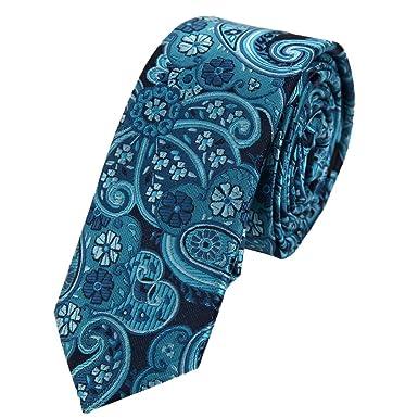 Epoint PS1111 Mejor Dise?o azul joven flaco corbata Gift Box Set ...