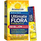 Renew Life - Ultimate Flora Probiotic Extra Care - 200 billion - 7 day digestive and immune health supplement - 7 packets