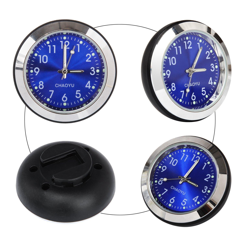 bici orologio al quarzo per Harley Kawasaki Yamaha e veicolo Discoball impermeabile auto moto universale manubrio orologio