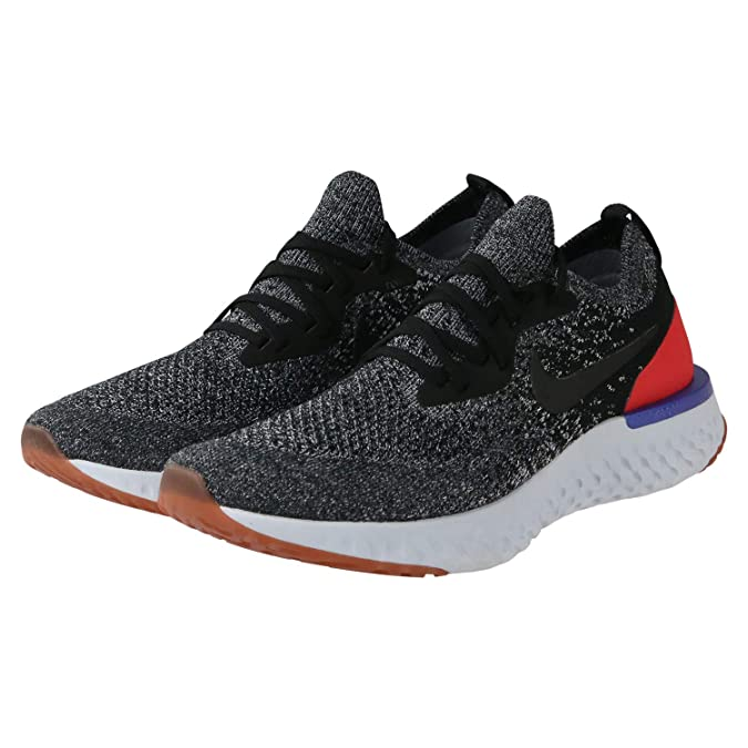 Amazon.com | NIKE Epic React Flyknit Mens Road Running Shoes AQ0067-006 Size 8.5 D(M) US | Athletic