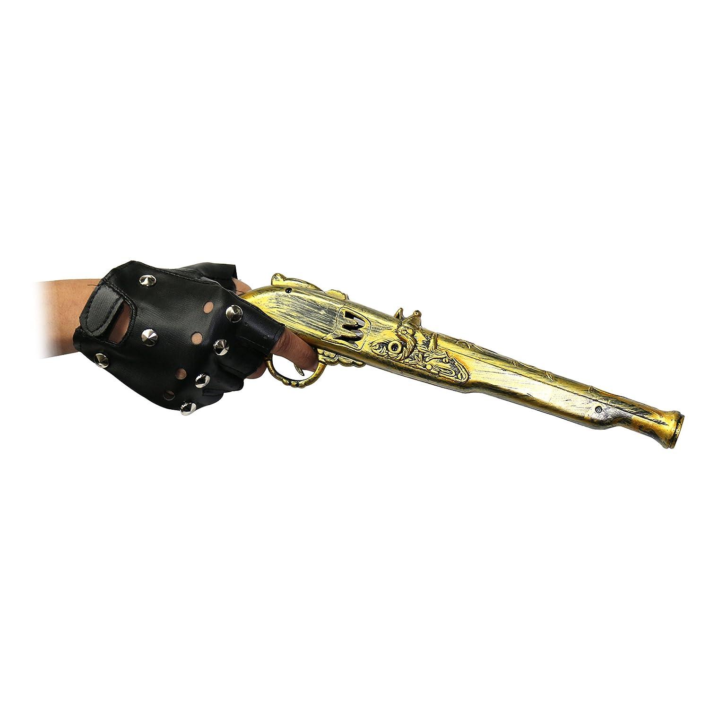 Steampunk Faux Silex Pistolet Accessoire d/éguisement Robelli Pirate