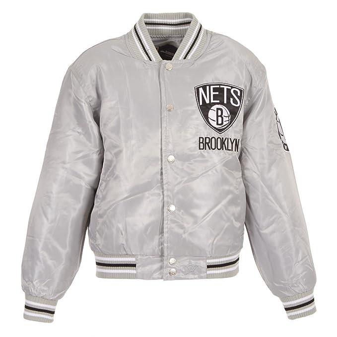 Adidas Original Brooklyn Nets Varsity Wool Jacket   Nba
