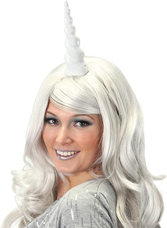 Unicorn horn base for real horse white base to attach for photoshoot  cosplay