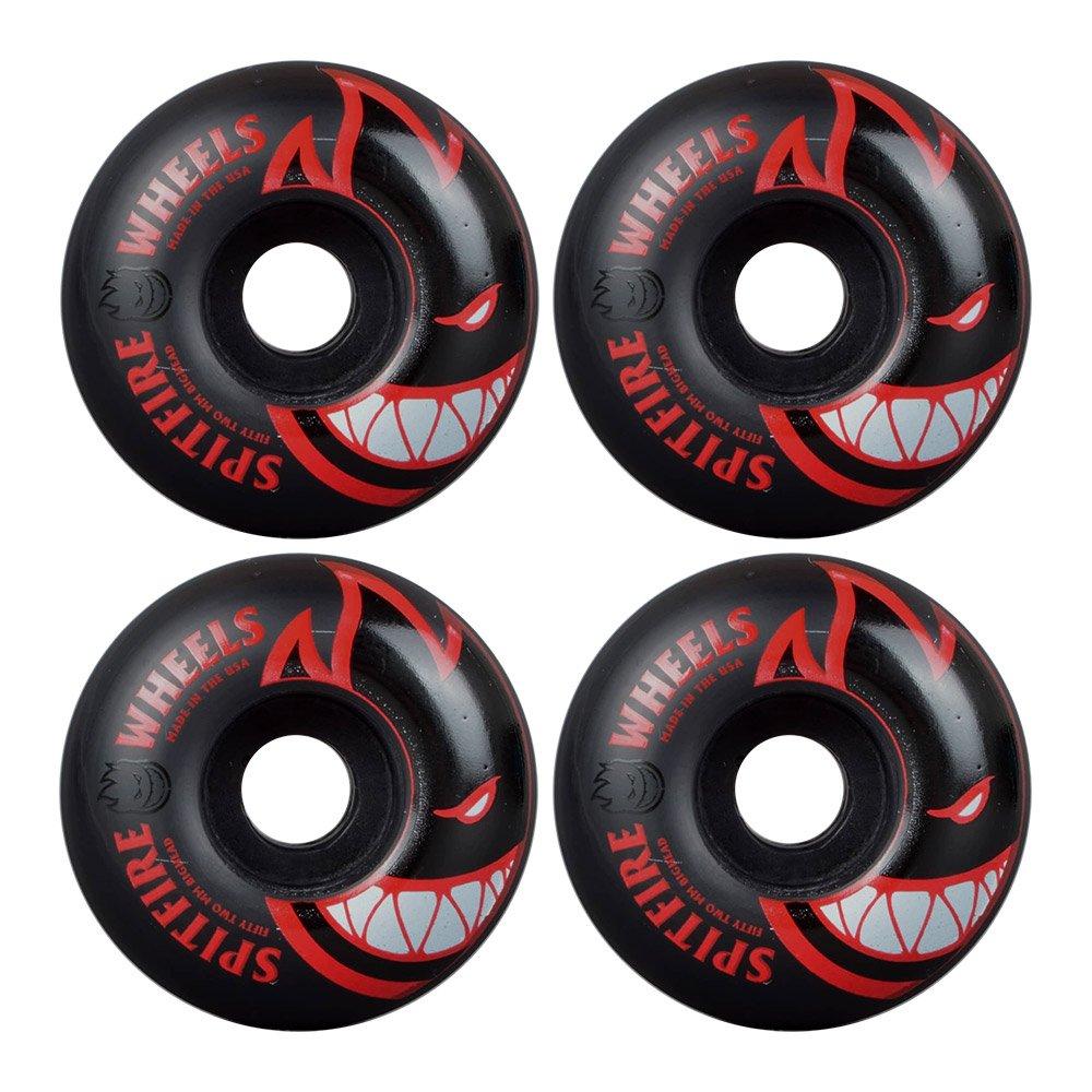Spitfire Wheels BIGHEAD Skateboard Coin Pouch BLACK//RED