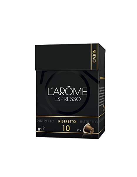 L Arome Espresso Ristretto Café - 10 Cápsulas