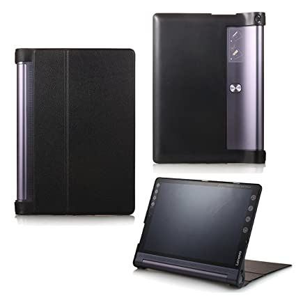 Funda para Lenovo Yoga Tab 3 10 Plus YT-X703F/L y Lenovo Tab 3 10 Pro YT3-X90F, funda inteligente con función Wake & Sleep, con lápiz táctil incluido ...