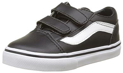 fe85e6efed41 Vans Unisex Babies  Old Skool V Trainers  Amazon.co.uk  Shoes   Bags