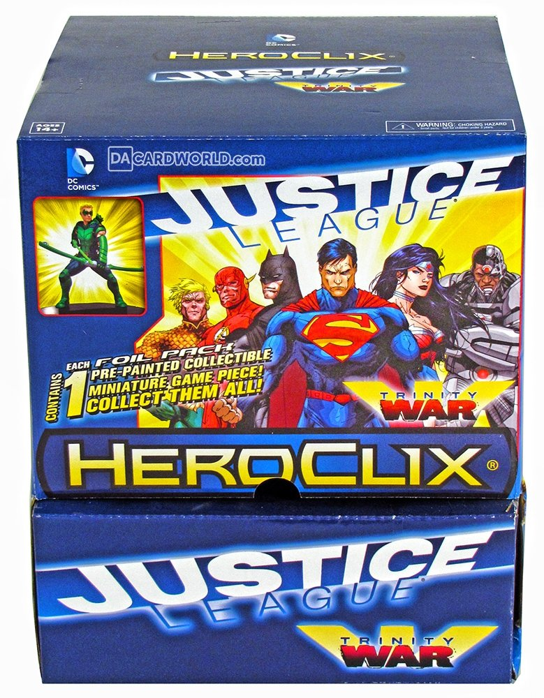 DC Heroclix Justice League Trinity War Gravity Feed Display (24 Booster)
