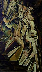 Art of The Net: Marcel Duchamp: Nude Descending A