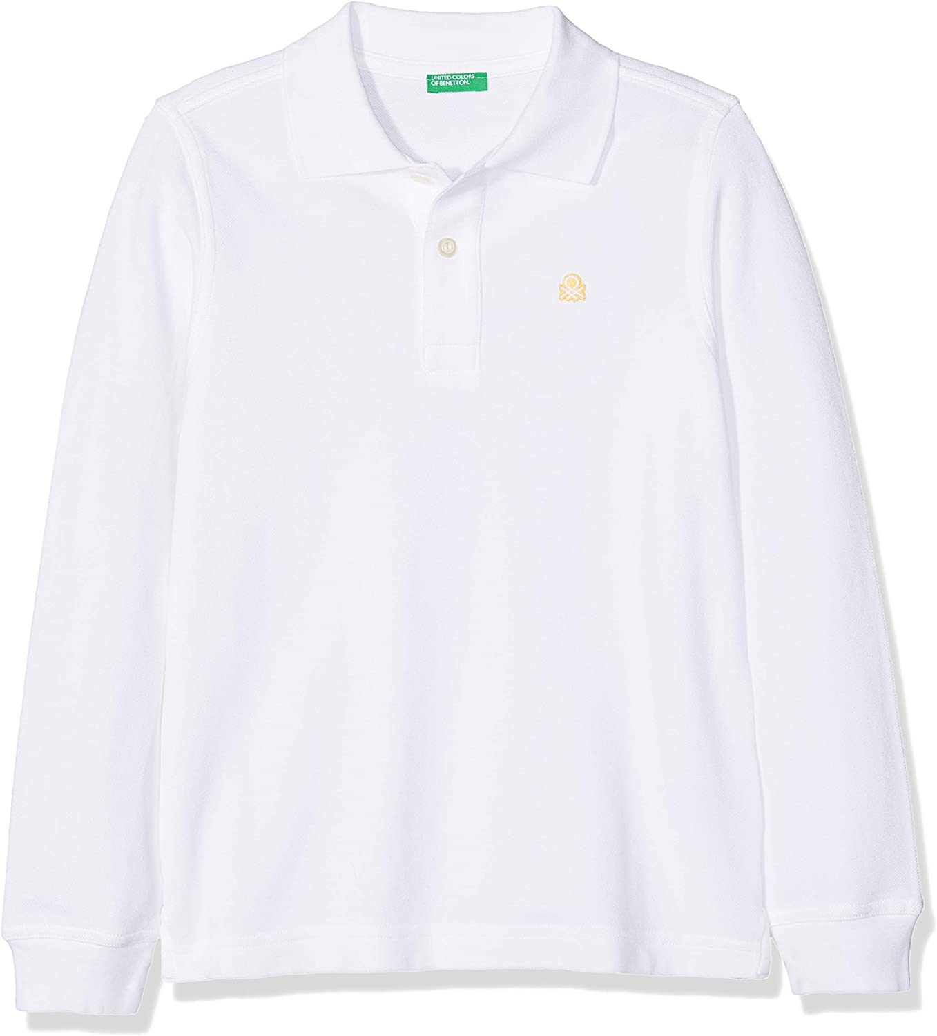 United Colors of Benetton L/s Polo Shirt, Niños, Blanco (White 101 ...