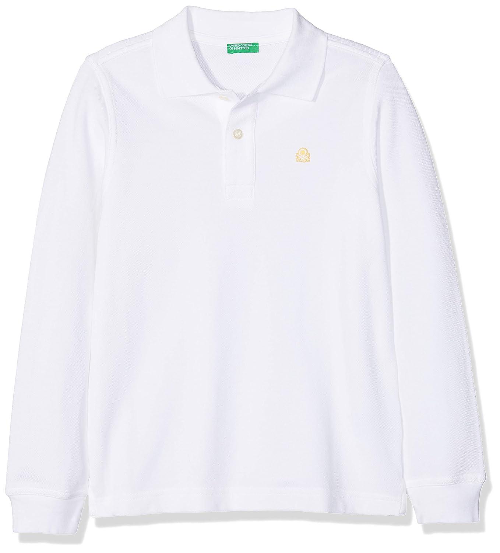 United Colors of Benetton L/s Polo Shirt, Niños, Blanco (White 101 ...