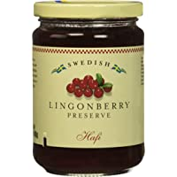 Hafi Lingonberry Preserves 14.1 Ounce (Pack of 2)
