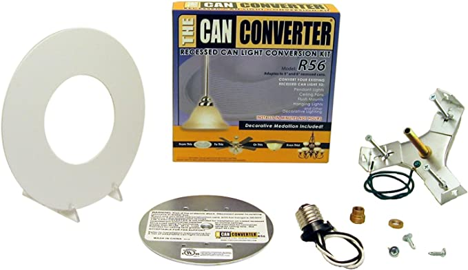 Recessed Can Light Converter Kit for 5