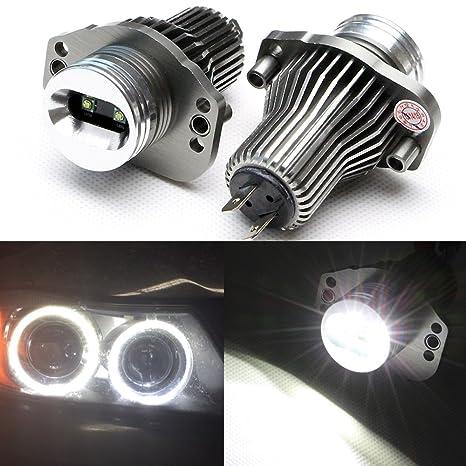 nslumo 10 W ultra brillante 7000 K LED Angel Eye Halo Luz OEM de repuesto bombillas