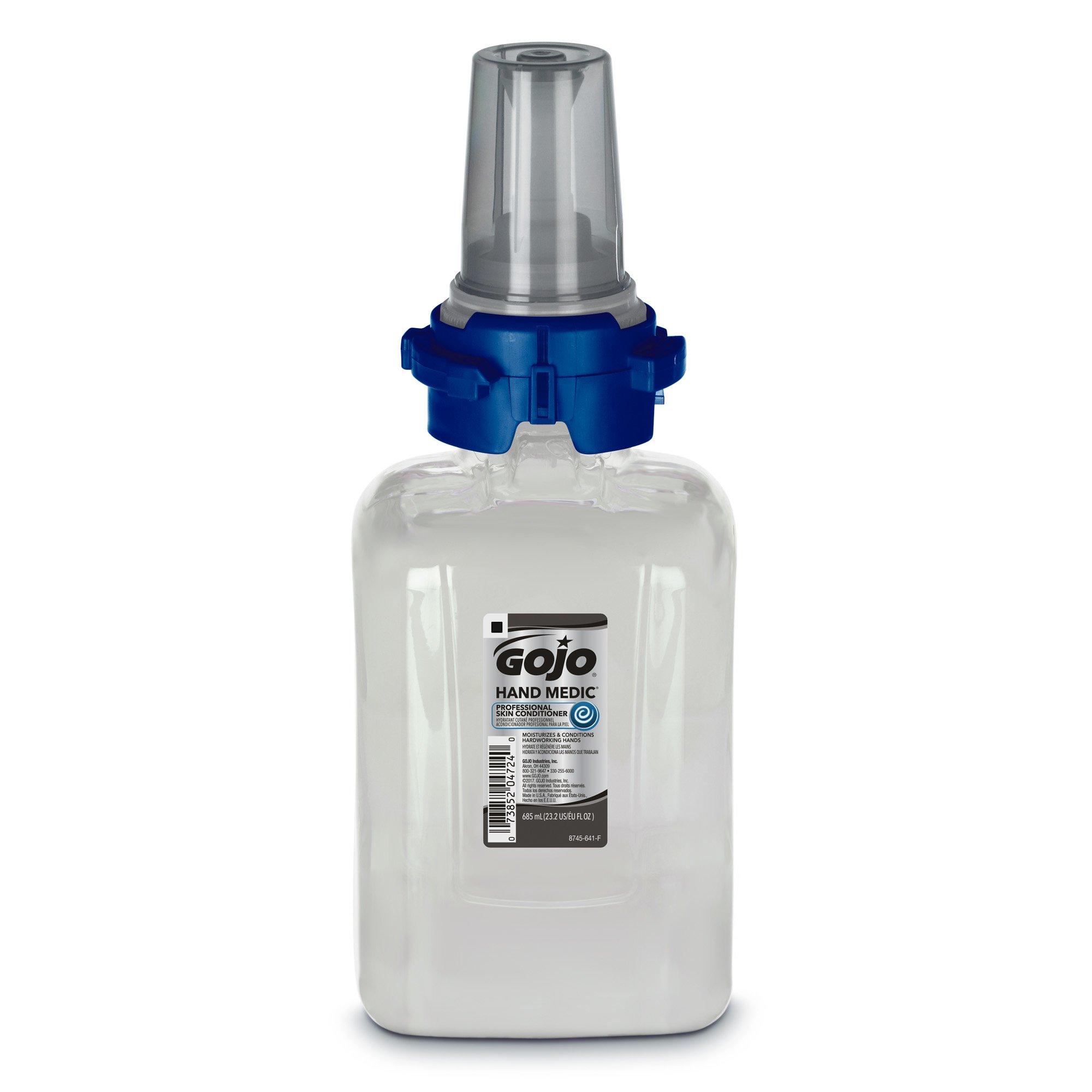 GOJO HAND MEDIC Professional Skin Conditioner 685 mL Refill for GOJO HAND MEDIC ADX-7 Dispenser - Heavy Duty Hand Conditioner by Gojo