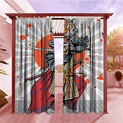 Amazon.com : Curtains Rod Pocket Two Panels Anime Wild Ninja ...