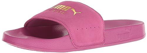 000238022c12 PUMA Mens Leadcat Suede Slide Sandal  Amazon.ca  Shoes   Handbags