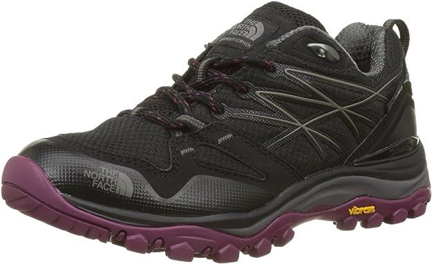 The North Face W Hedgehg Fp GTX, Zapatillas de Senderismo para Mujer, Negro (TNF Black/Amaranth Purple Zfx), 36 EU: Amazon.es: Zapatos y complementos