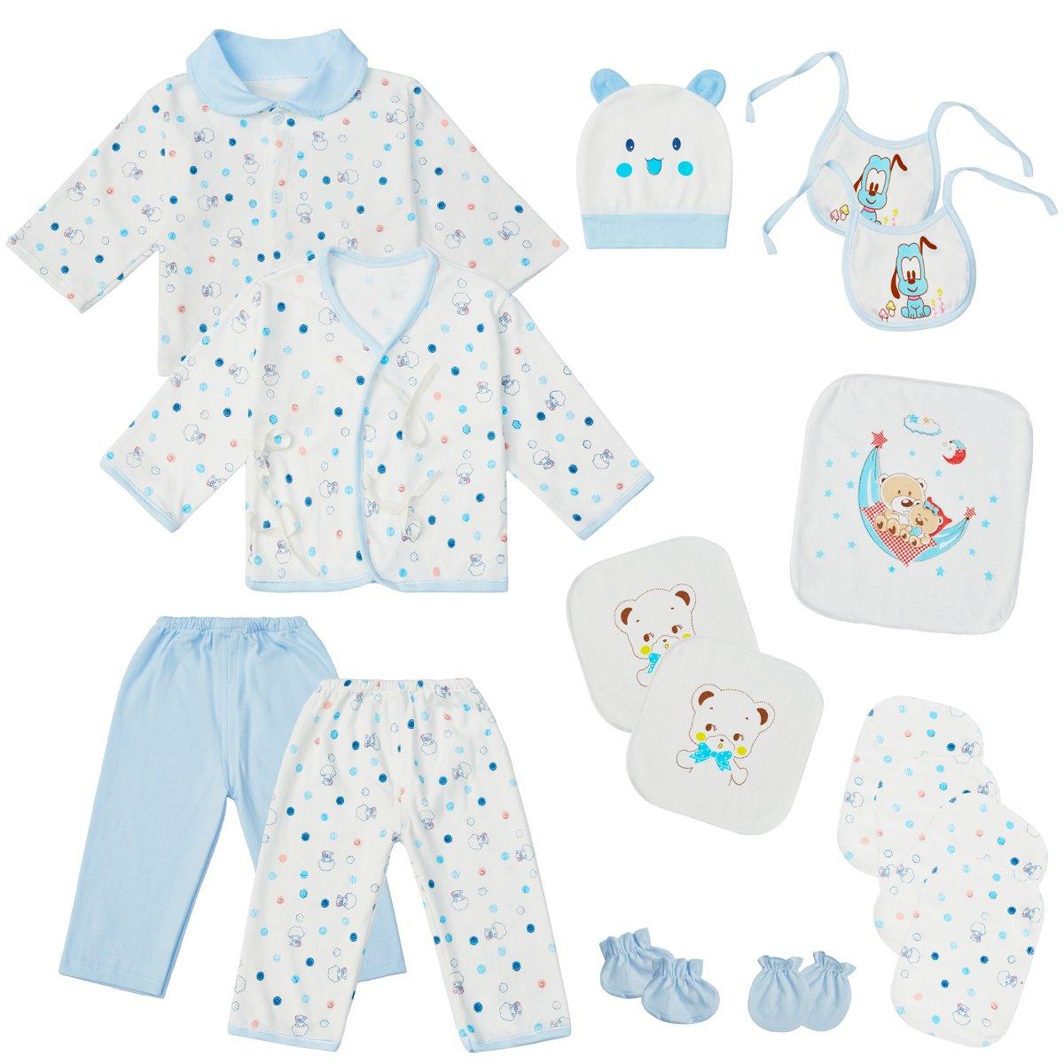 Amazon.com: 0-3 Months Baby Boy Clothes Newborn Layette Set Infant ...