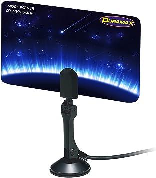 Duramax Digital HDTV Antena Plana Delgada para señales de TV UHF/VHF/HDTV