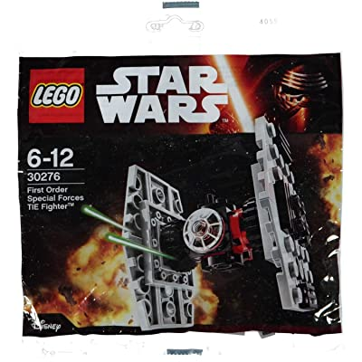 LEGO Star Wars The Force Awakens Polybag - First Order Special Forces Tie Fighter (30276): Toys & Games