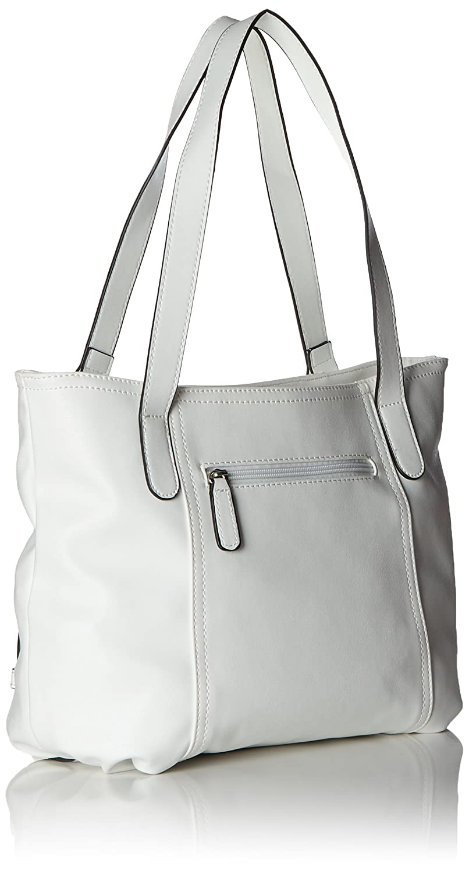Open Mind Shopper Lhz, Womens Shoulder Bag, Wei? (White), 13x26x38 cm (B x H T) Gerry Weber