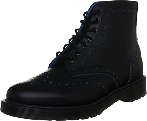 fine Diventare matto flessibile  Dr. Martens Men's Brogue Anthony Boot Boots Black Size: 9.5: Amazon.co.uk:  Shoes & Bags