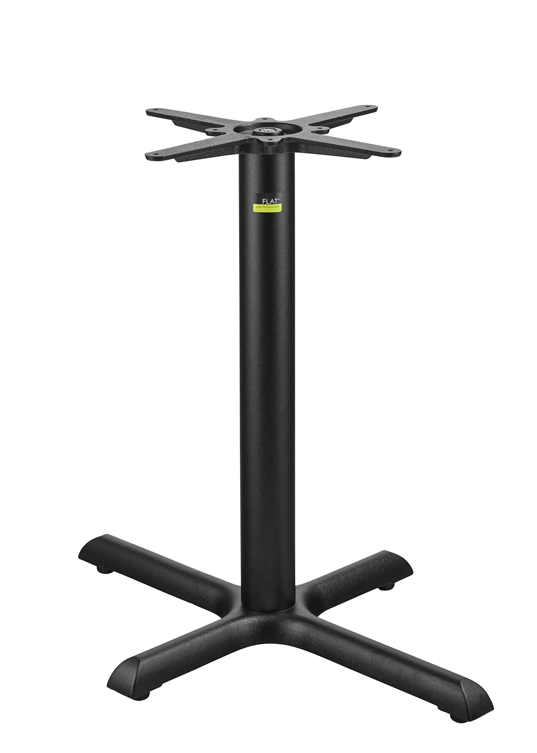 FLAT Self-Stabilizing KX2230 (22'' X 30''), Cast Iron, Dining Height Table Base