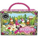 eeBoo Birthday Parade Puzzle, 20 pieces