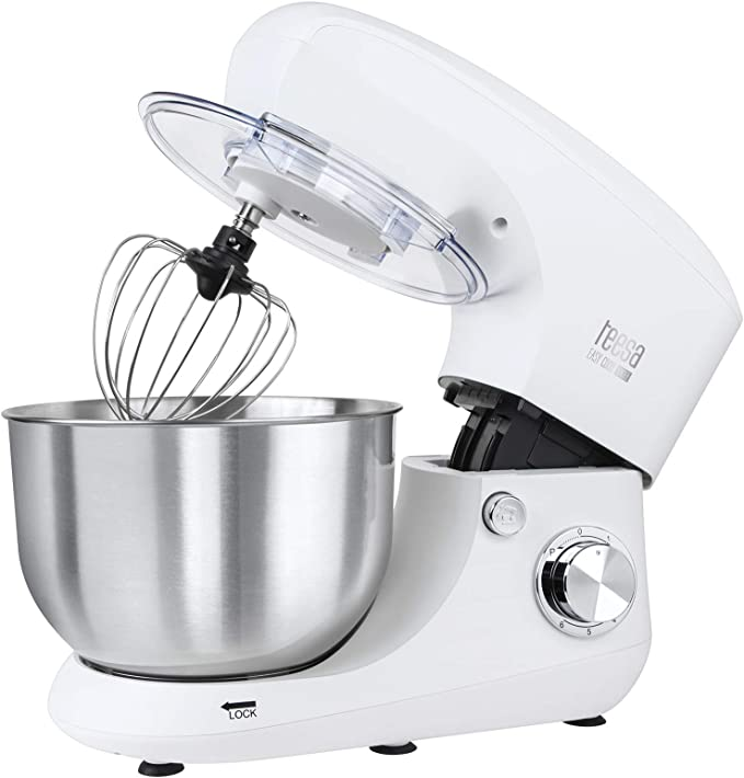 Teesa TSA3545-W EASY COOK SINGLE WHITE - Robot de cocina, color blanco: Amazon.es: Hogar