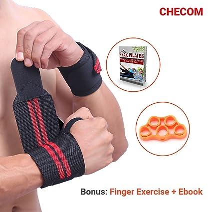 84cb81009cf6 checom muñeca Wraps por 50 cm de alto par para Fitness ...