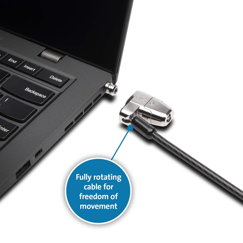 Kensington K66638WW Click Safe 2.0 Keyed Laptop Lock for Dell Devices by Kensington (Image #3)