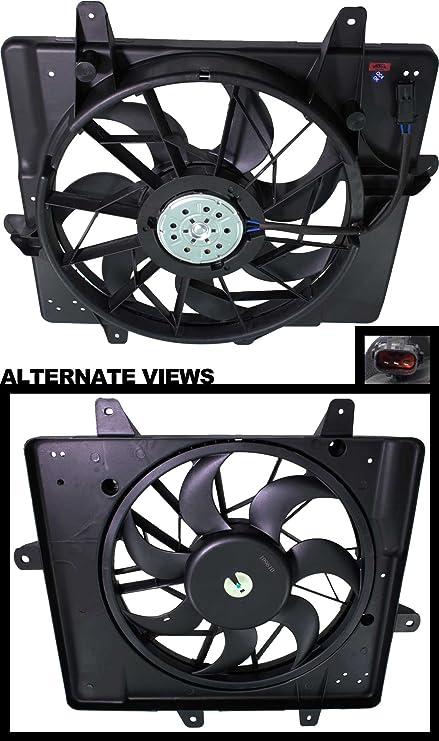 apdty 731133 Radiador Ventilador de montaje para 2001 - 2005 ...