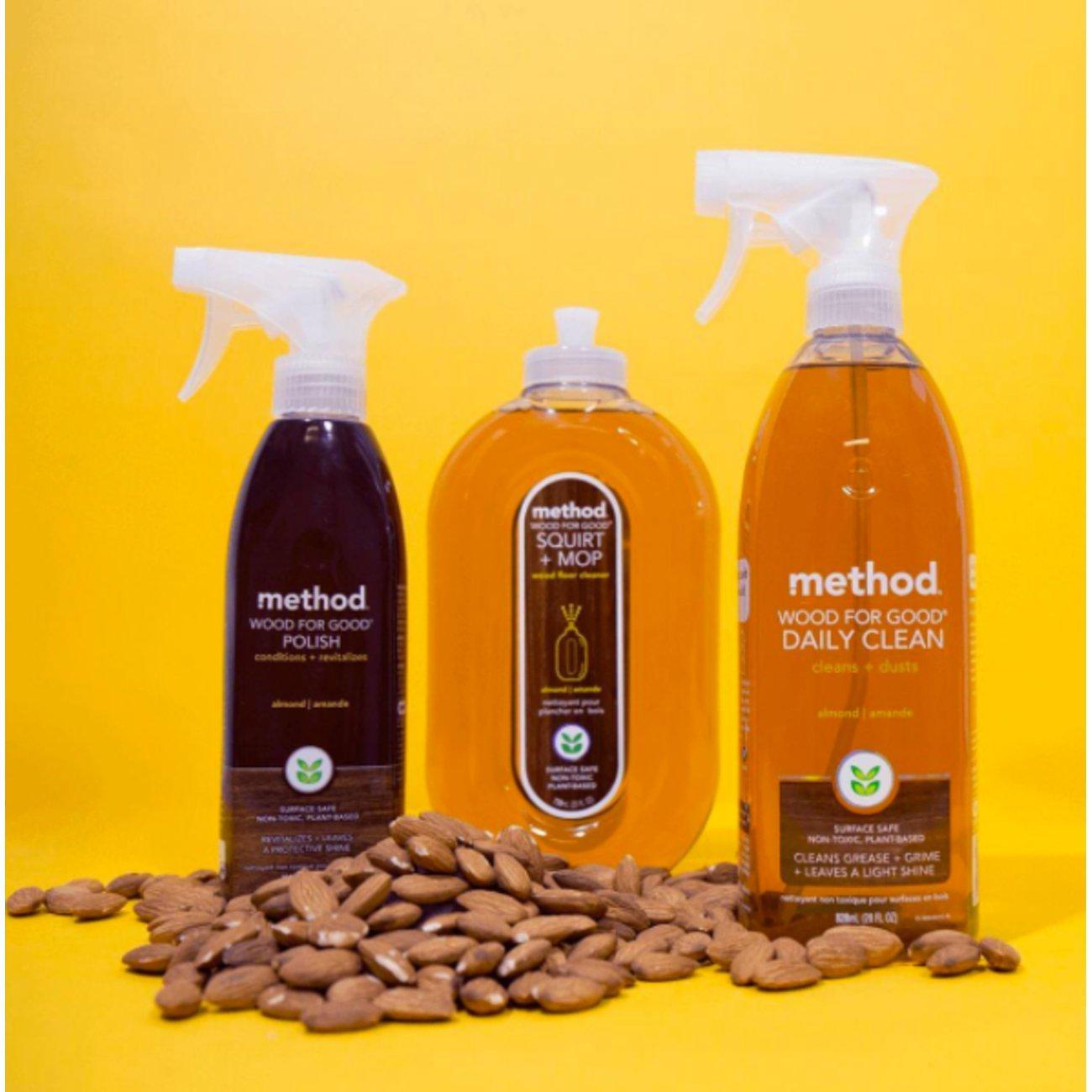 Method Squirt + Mop Hardwood Floor Cleaner, Almond, 25 Ounce (Pack 6) by Method (Image #5)