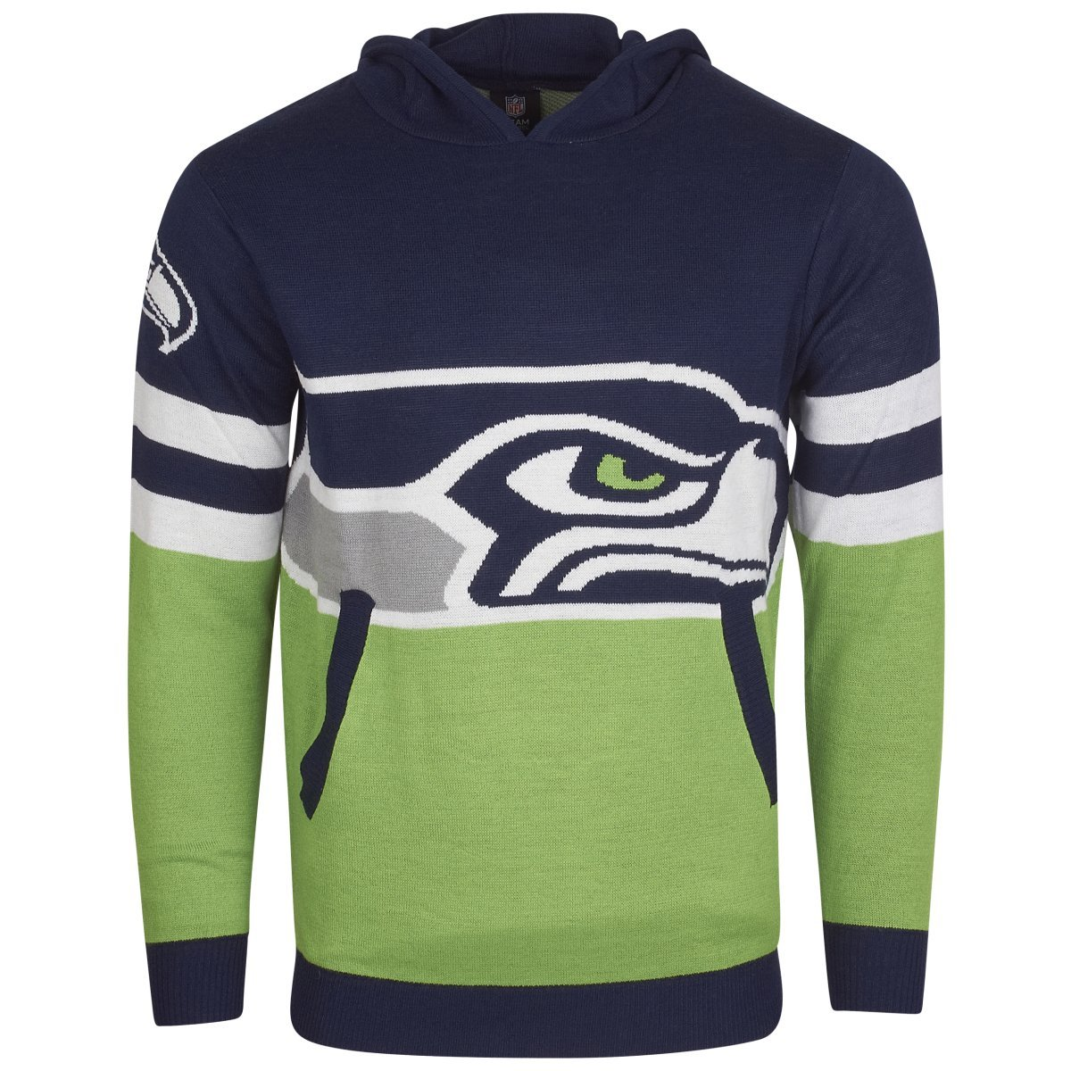NFL Ugly Sweater Big Logo Hoody – NFL Seattle Seahawks Forever Collectibles