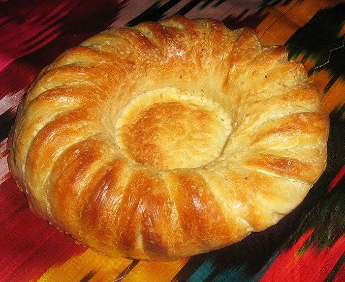 Tradicional de madera hecho a mano uzbekas sello chekich para pan No M569: Amazon.es: Hogar