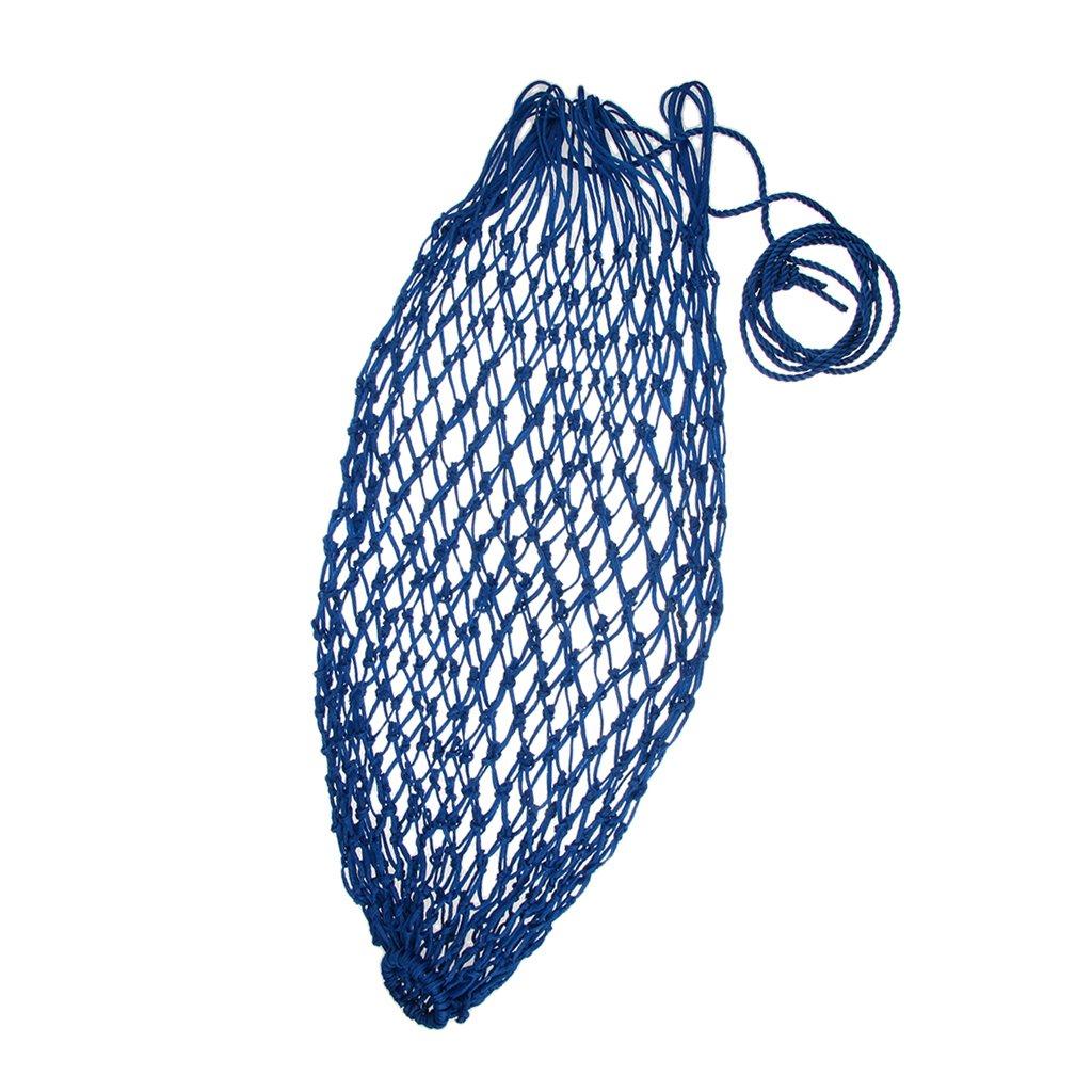 Sharplace 92cm/36'' Slow Feed Horse Hay Net Bag Haynet for Horses Reduce Waste - Blue 20 Mesh Hole