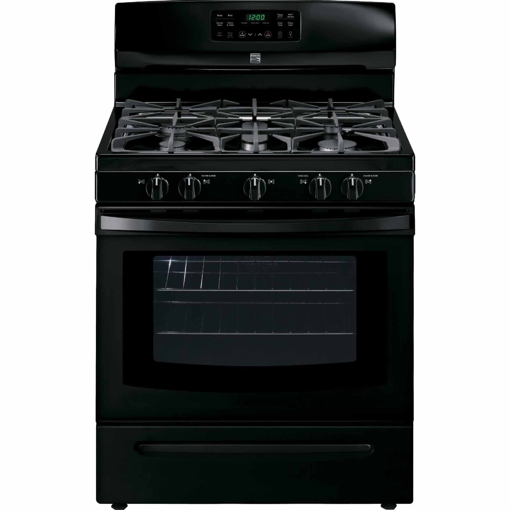 Kenmore 74239 5.0 cu. ft. Self Clean Gas Range in Black, includes delivery and hookup (Available in select cities only)